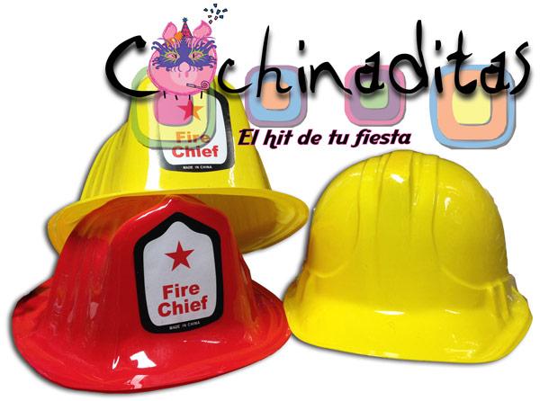 Casco de constructor y bombero