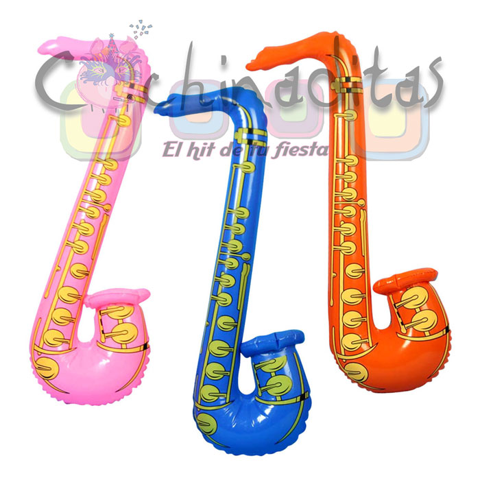 Saxofón inflable
