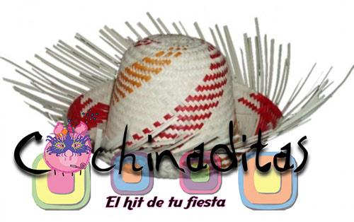 Sombrero de palma costeño