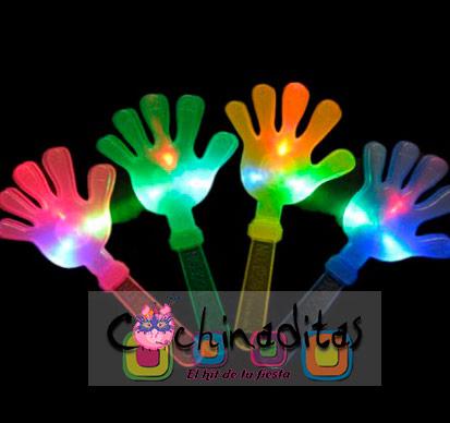 Manitas aplaudidoras luminosas