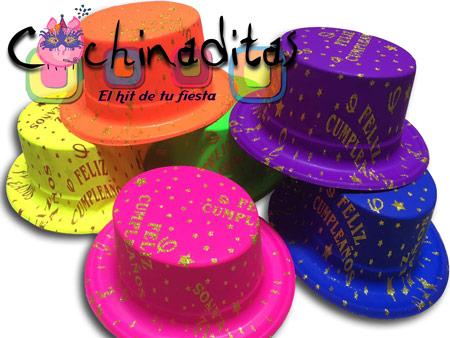 Sombrero copa cumpleaños