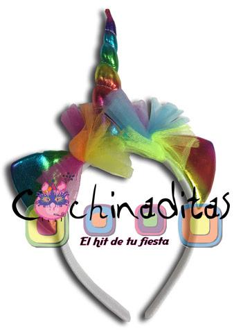 Diadema unicornio colores