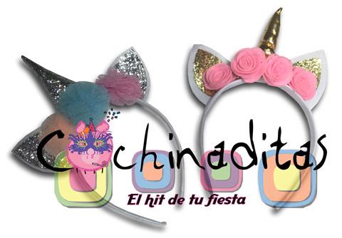 Diadema unicornio flores